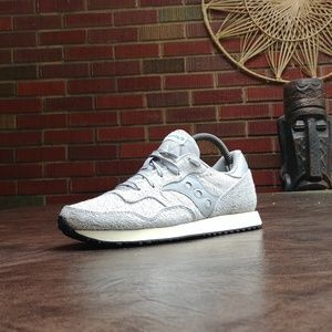 SAUCONY ORIGINALS DXN TRAINER KNIT RUNNING SHOES